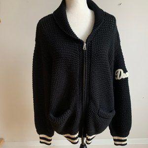 Aritzia Wilfred Free sweater full zip up sz L